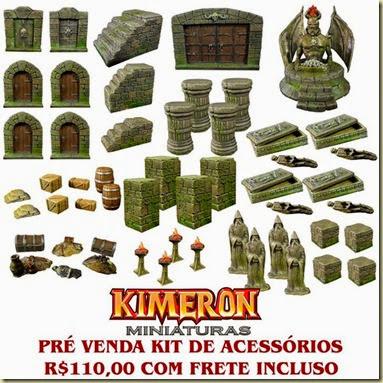 Kit acessórios