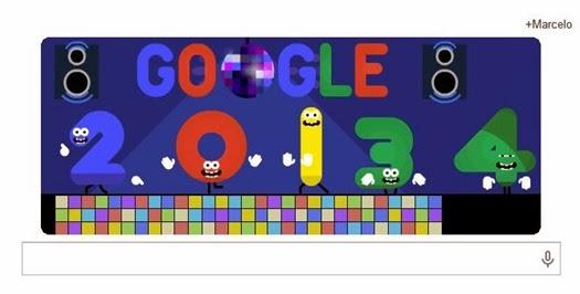 Google Feliz Ano Novo