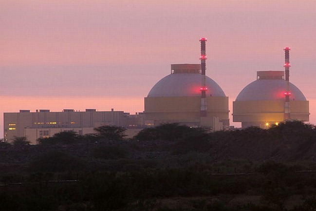 Kudankulam Nuclear Power Plant, Tamil Nadu, India