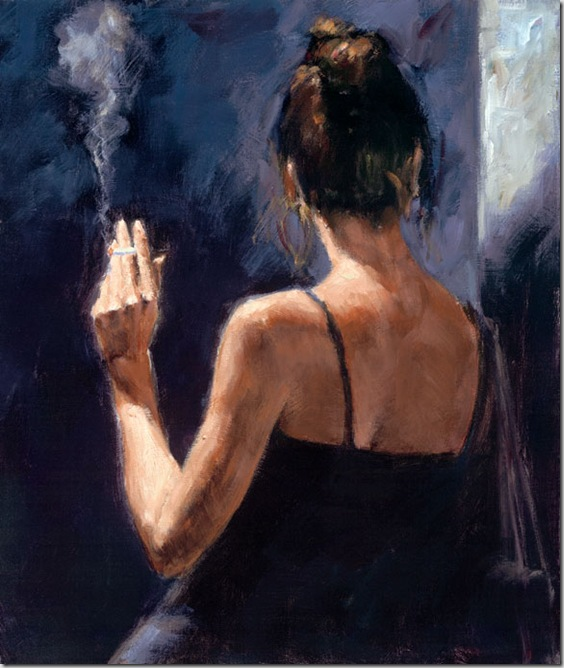 Fabian Perez 1967 - Argentine Figurative painter - Reflections of a Dream - Tutt'Art@ (8)