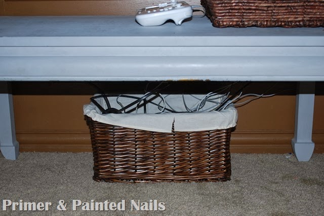 Neat in a Basket 2 - Primer and Painted Nails