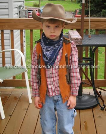 angry cowboy