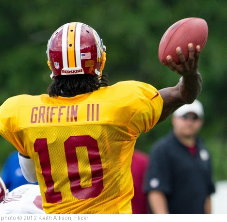 'Robert Griffin III' photo (c) 2012, Keith Allison - license: https://creativecommons.org/licenses/by-sa/2.0/
