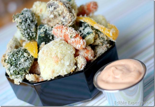 easy tempura veg