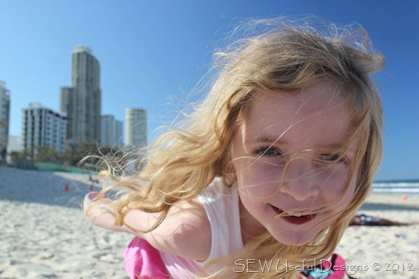Surfers paradise beach Rosie 3 small