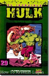 P00029 - Coleccionable Hulk #29 (de 50)