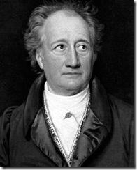 Oberste geistige Persönlichkeit Deutschlands ...der Goethe