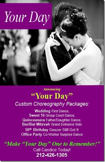 Custom Choreography Packages