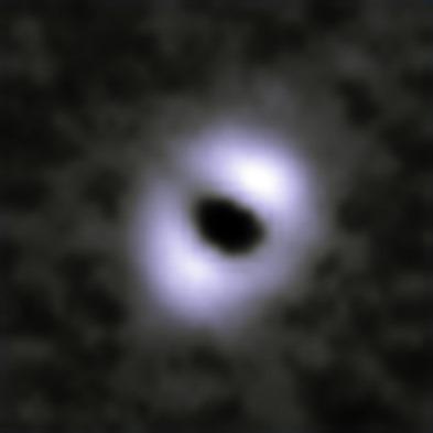 disco de detritos ao redor de estrela