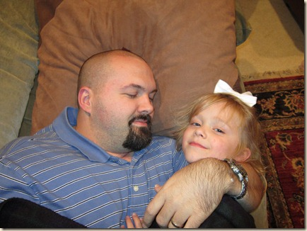 10-16 Kyla and Daddy napping 1