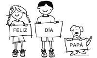 1000 - dibujos dia del padre byn, jugarycolorear (6)