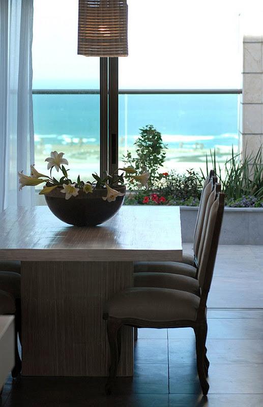 comedor con plantas de interior