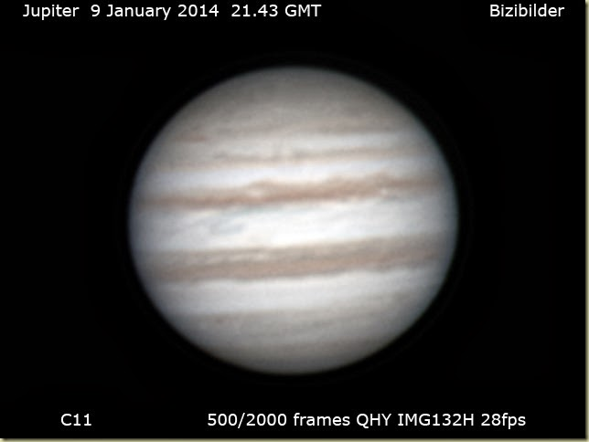 9 January 2013 Jupiter C11