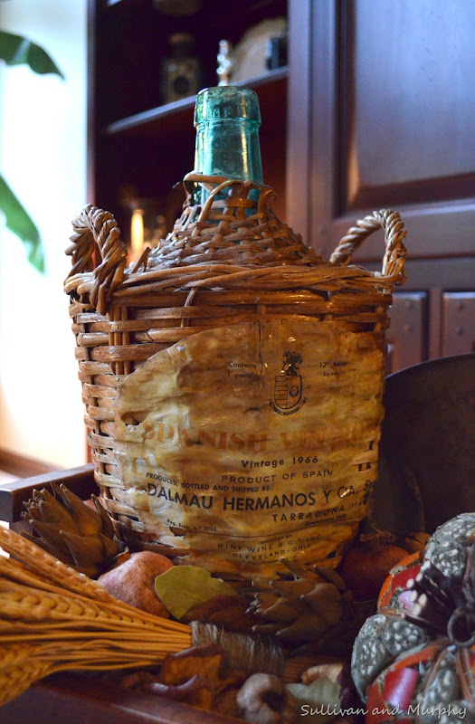 spanish wine bottle