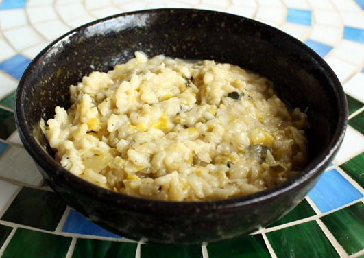 mustard risotto