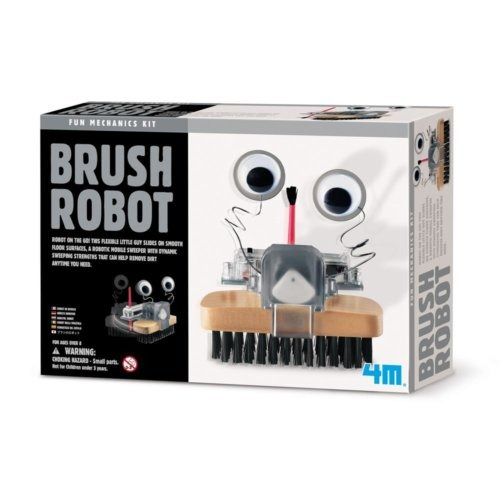Kit de ciencia – robot cepillo
