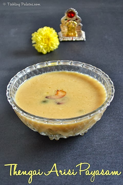 Thengai Arisi Payasam Recipe