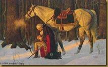 George Washington Kneeling