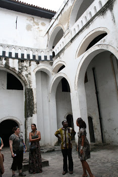 'A tour of the historic Elmina Castle.'  Photo by Sandra Vu