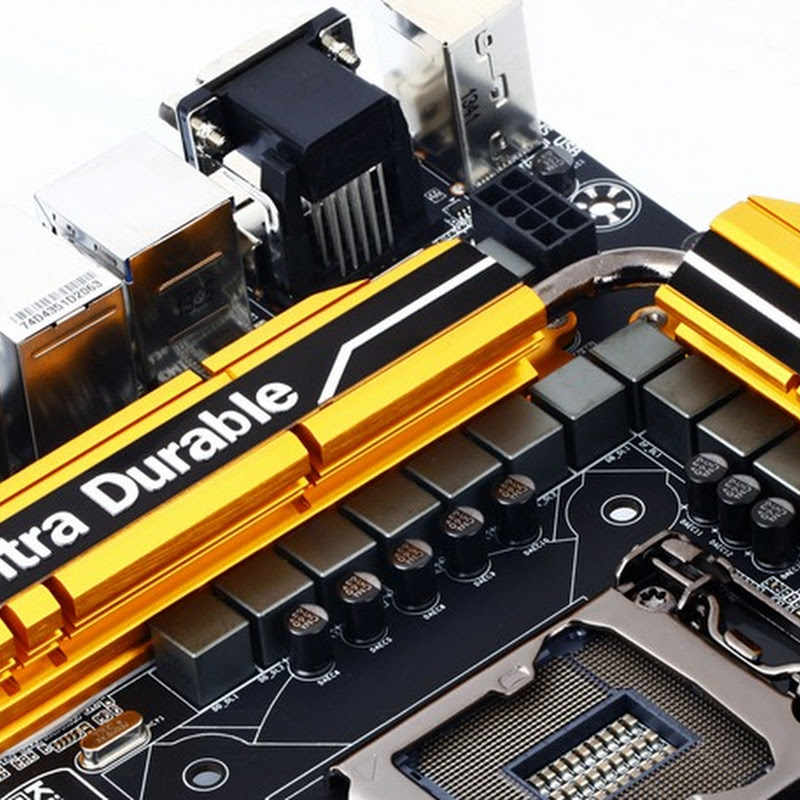 GIGABYTE New Ultra Durable Heatsink Design