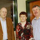 Tony Wehrly, AnnMarie Mc Goven, Eamon Mc Cafferty. (AnnMarie was 1st in the C Section of the Autumn League)