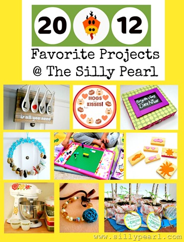 2012 Craft Project Round Up - The Silly Pearl