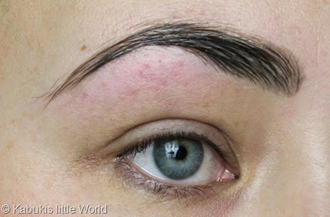 Augenbrauen 6 Färben
