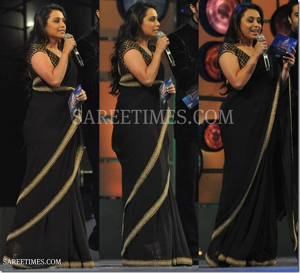 Rani_Mukherjee_Black_Saree