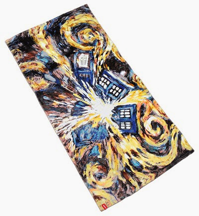 Exploding TARDIS Beach Towel from ThinkGeek