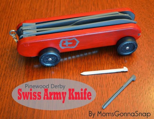 Pinewood Derby Swiss Army Knife by MomsGonnaSnap