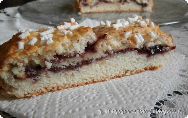 balzone bensone pinza ciambella marmellata emilia romagna modena senza uova senza burro panna cake jam dessert