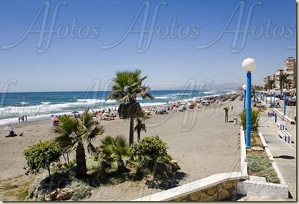 Playa Ferrara en malaga