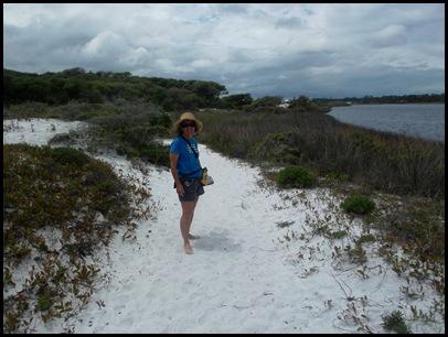Dune hike & rain paddle 108