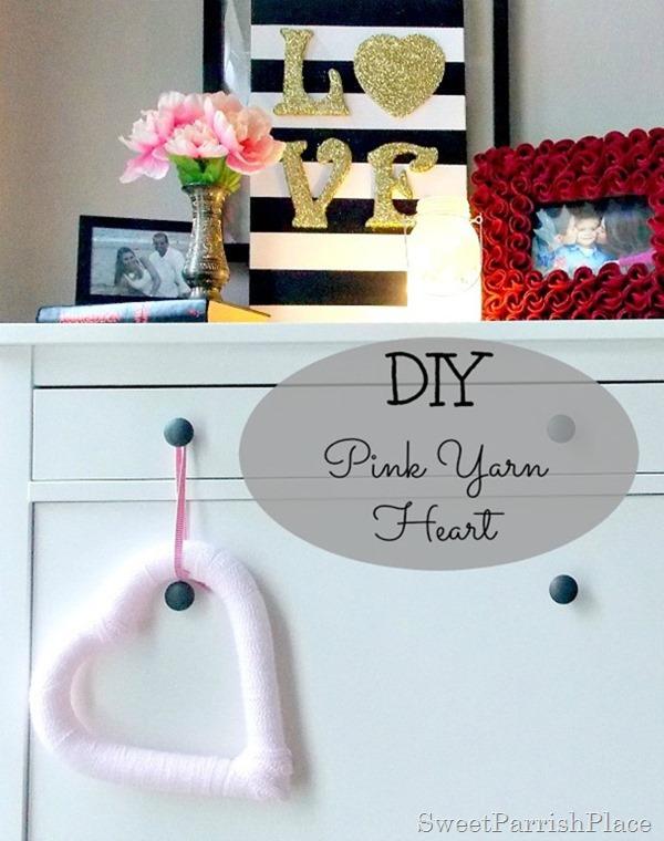 pink yarn heart2