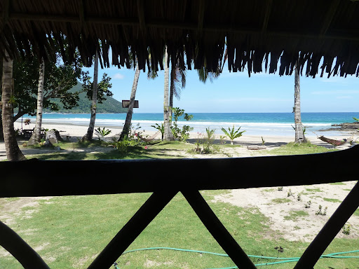 The view from our hut