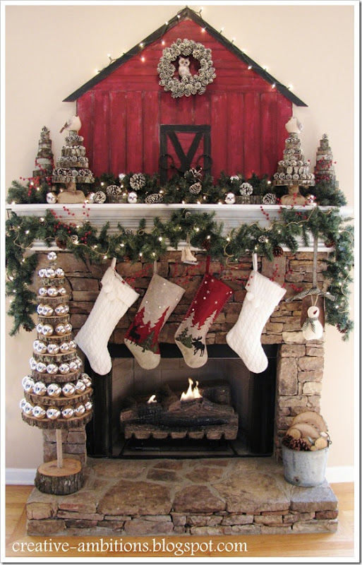 Christmas Mantel5