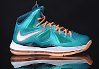 nike lebron 10 gr miami dolphins 2 01 Gallery: Nike LeBron X Miami Setting or Dolphins if you Like