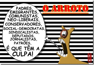 O ARROTO -CULPADOS
