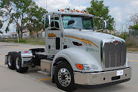 Dillon Transport is placing ten more LNG-fueled Peterbilt 384 tractors in Owens Corning service, this time in Lodi, Ohio (west of Akron) and is looking at 20 more natiral gas trucks for Tampa, possibly to be fueled by CNG.