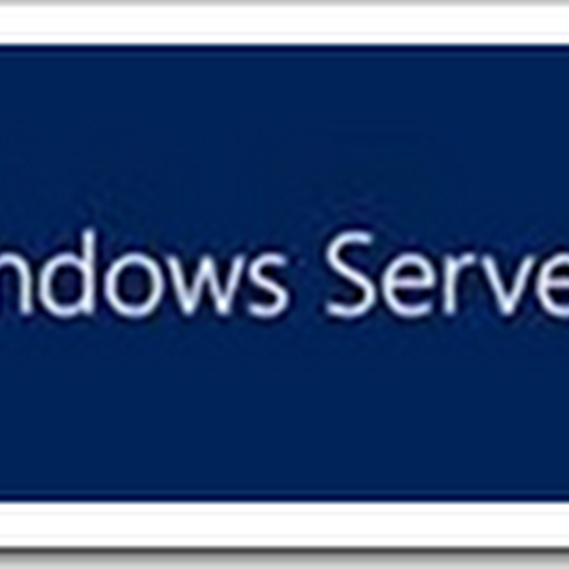 Windows 2012 Server Edition Comparison Matrix and more...