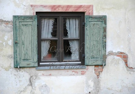 Window with Shutter and Copy Right