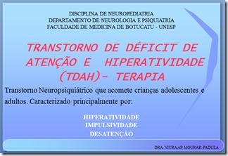 Imagem do documento escrito Transtorno de Déficit de Atenção