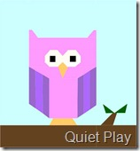 Quiet Play Happy owl