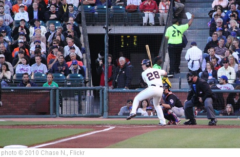 'Buster Posey' photo (c) 2010, Chase N. - license: http://creativecommons.org/licenses/by-sa/2.0/