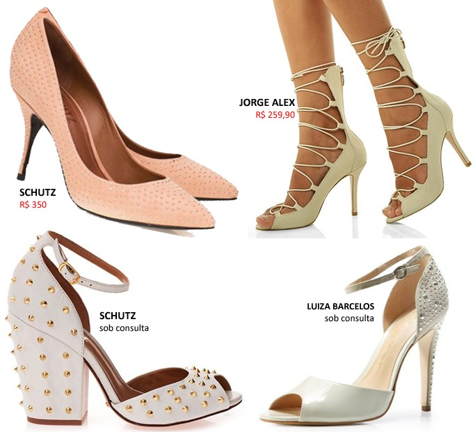 sapatos para usar no casamento