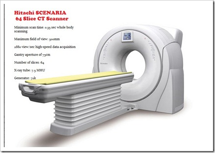 Hitachi SCENARIA 64 Slice Review Specs And Price