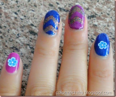 Chitra Pal Sinfulolors Nail Art for Collage (75)