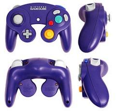 Não fossem as cores, o controle do GameCube pareceria um controle bem normal se comparado ao do Nintendo 64