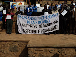Une attitude de la société civile du Sud-Kivu, lors d'un sit-in à la place de l'Indépendance, dans la commune d'Ibanda, à Bukavu, jeudi 30 juin 2011, en signe de protestation des festivités de l'indépendance./Photo Radio Okapi-Bukavu