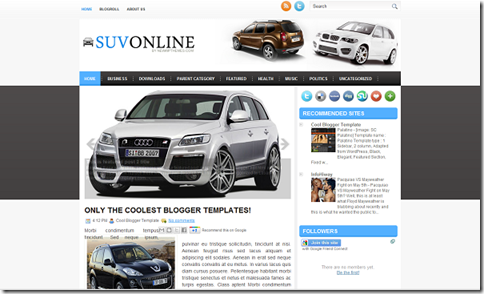 SUV Online